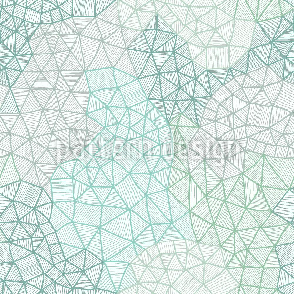 Designtapete Feines Spinnennetz