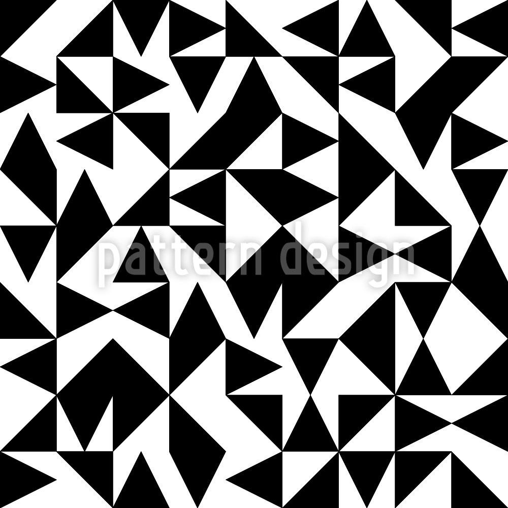 Designtapete Eulatik Dreiecke