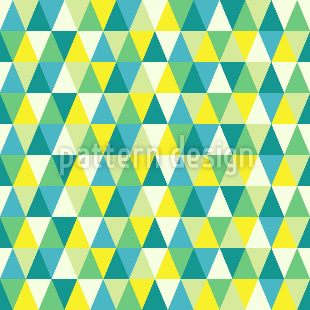 Designtapete Dreiecke Hoch Und Runter