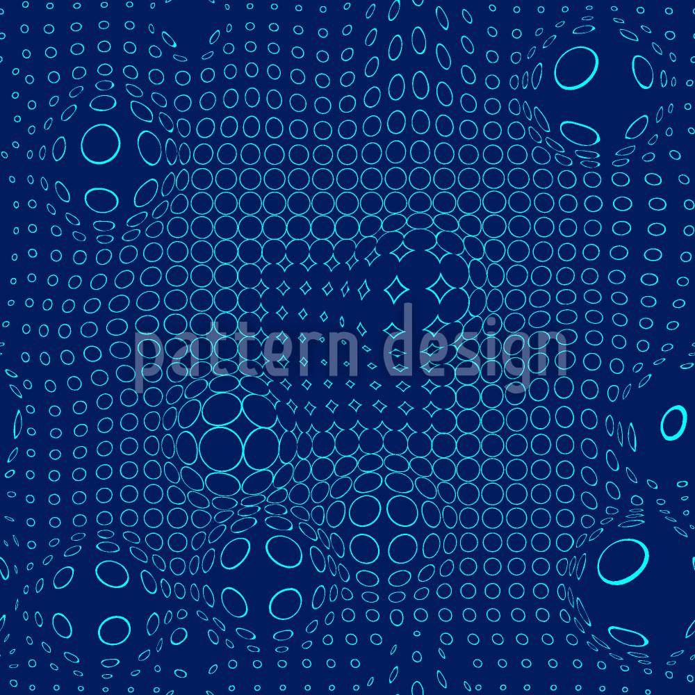 Designtapete Netzwerk Flut