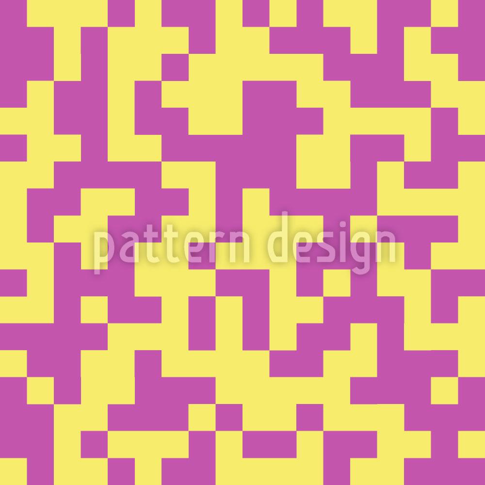 Designtapete Das Erdbeer Vanille Labyrinth