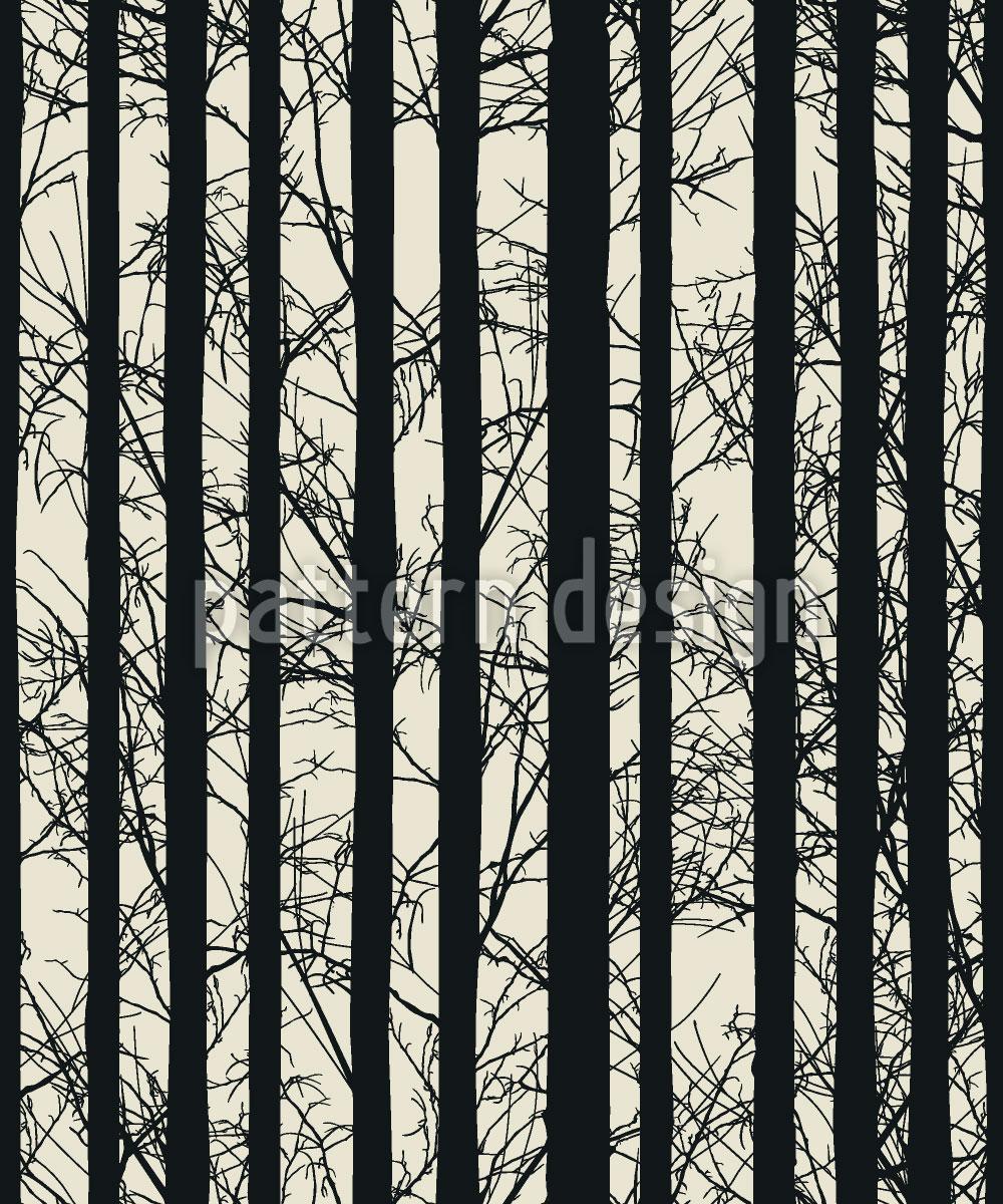Designtapete Wald Elegie