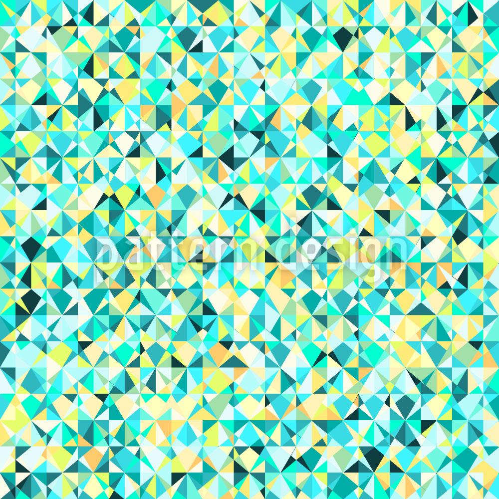 Designtapete Geometrische Vision