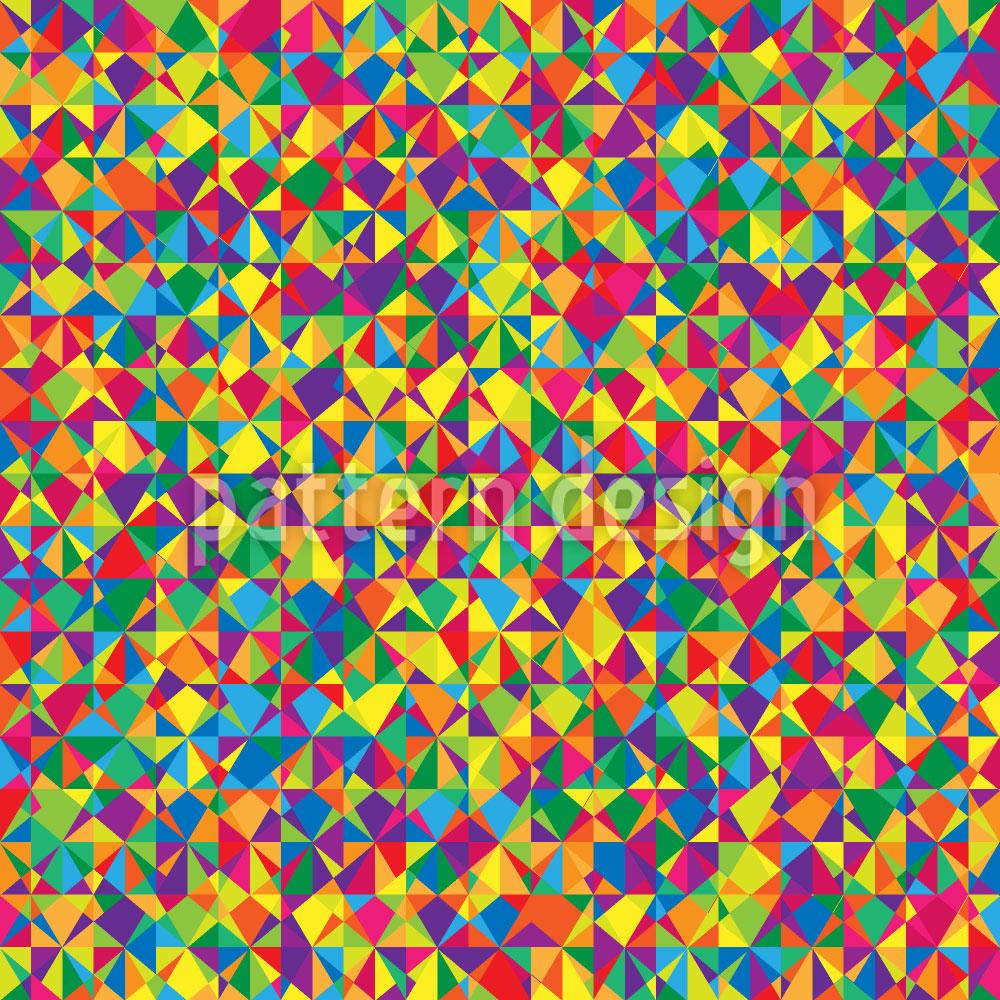 Designtapete Kaleidoskop Spektren