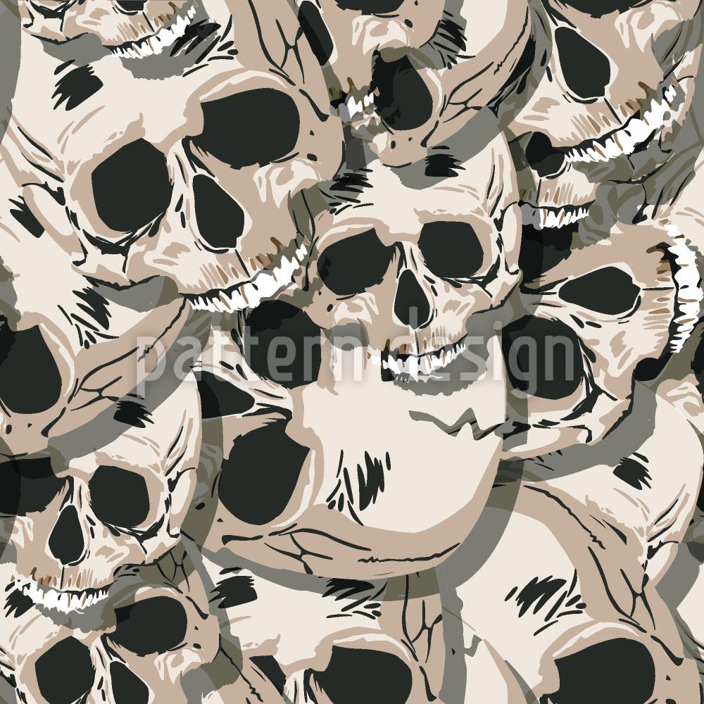 Designtapete Die Totenköpfe Von Kutna Hora