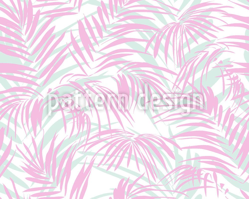Designtapete Palmen Romanze