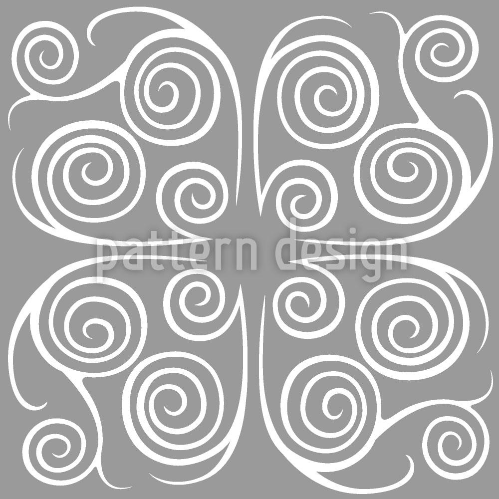 Designtapete Jorinde Spiralen