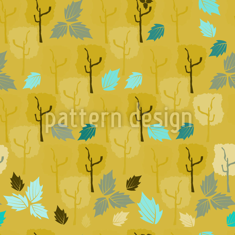 Designtapete Wenn Die Letzten Blätter Fallen