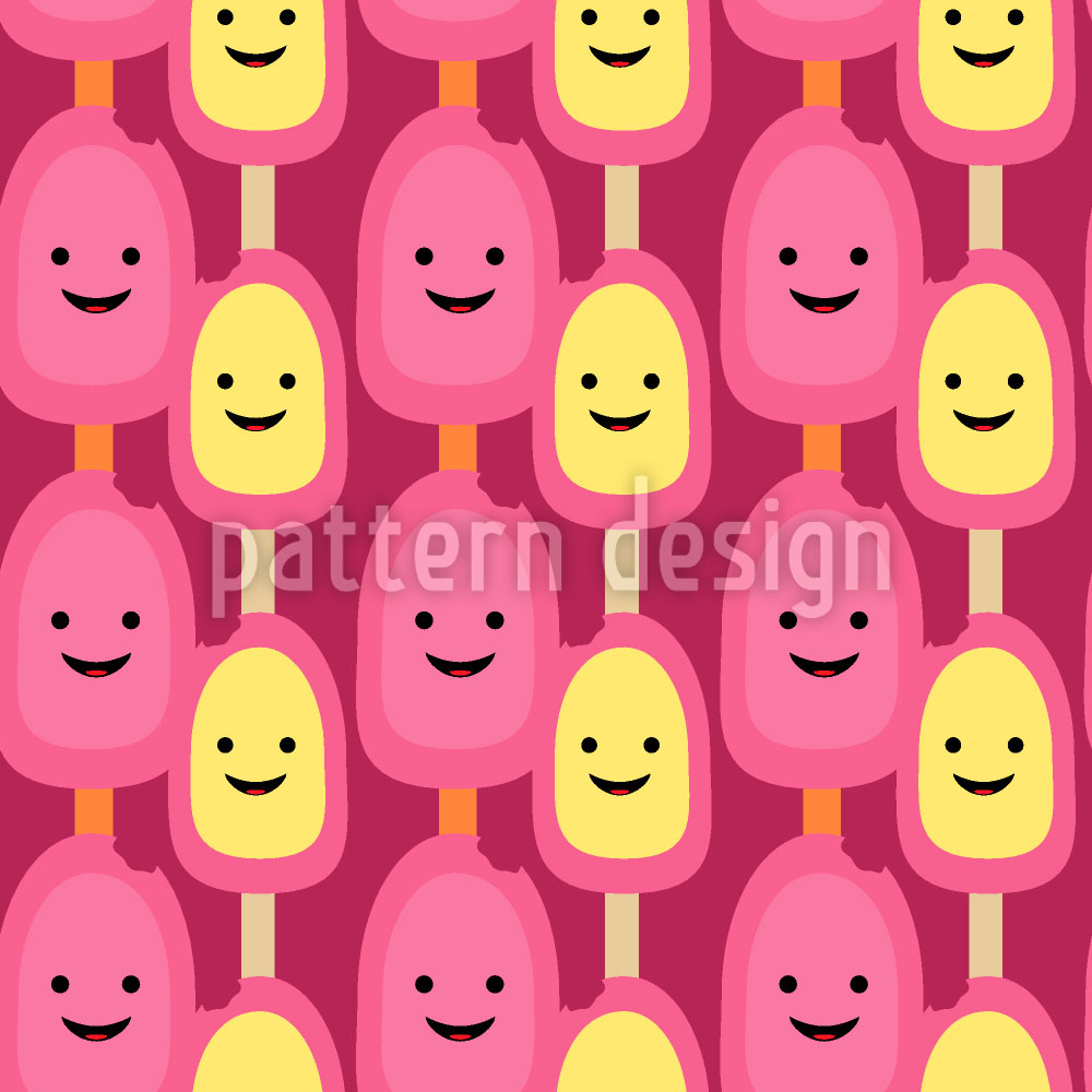 Designtapete Eis Mich Baby