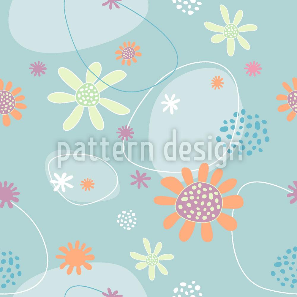 Designtapete Blumen Mathilde