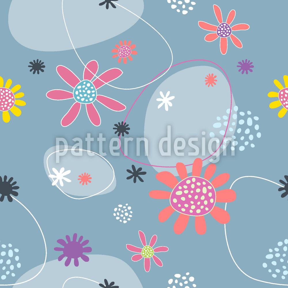 Designtapete Blumen Mathilda