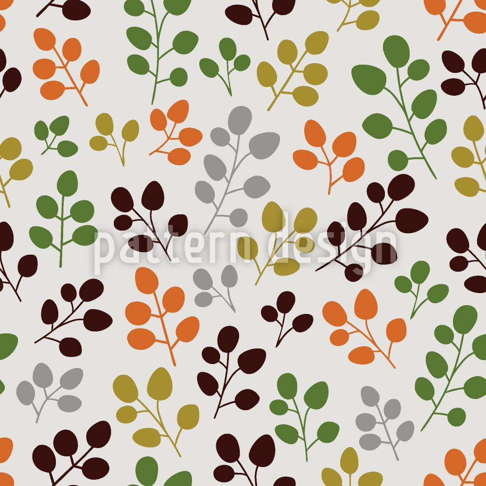 Designtapete Mein Zartes Herbstblatt