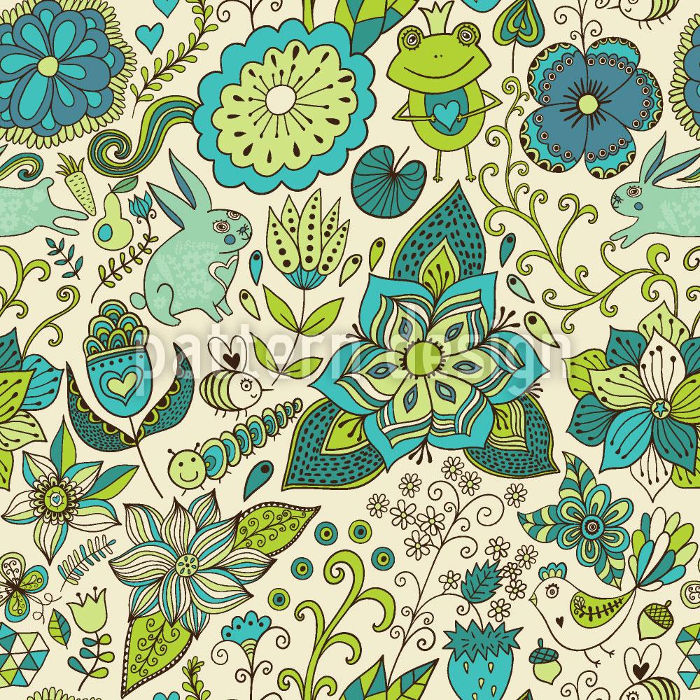 Designtapete Zauberwelt Im Frühling
