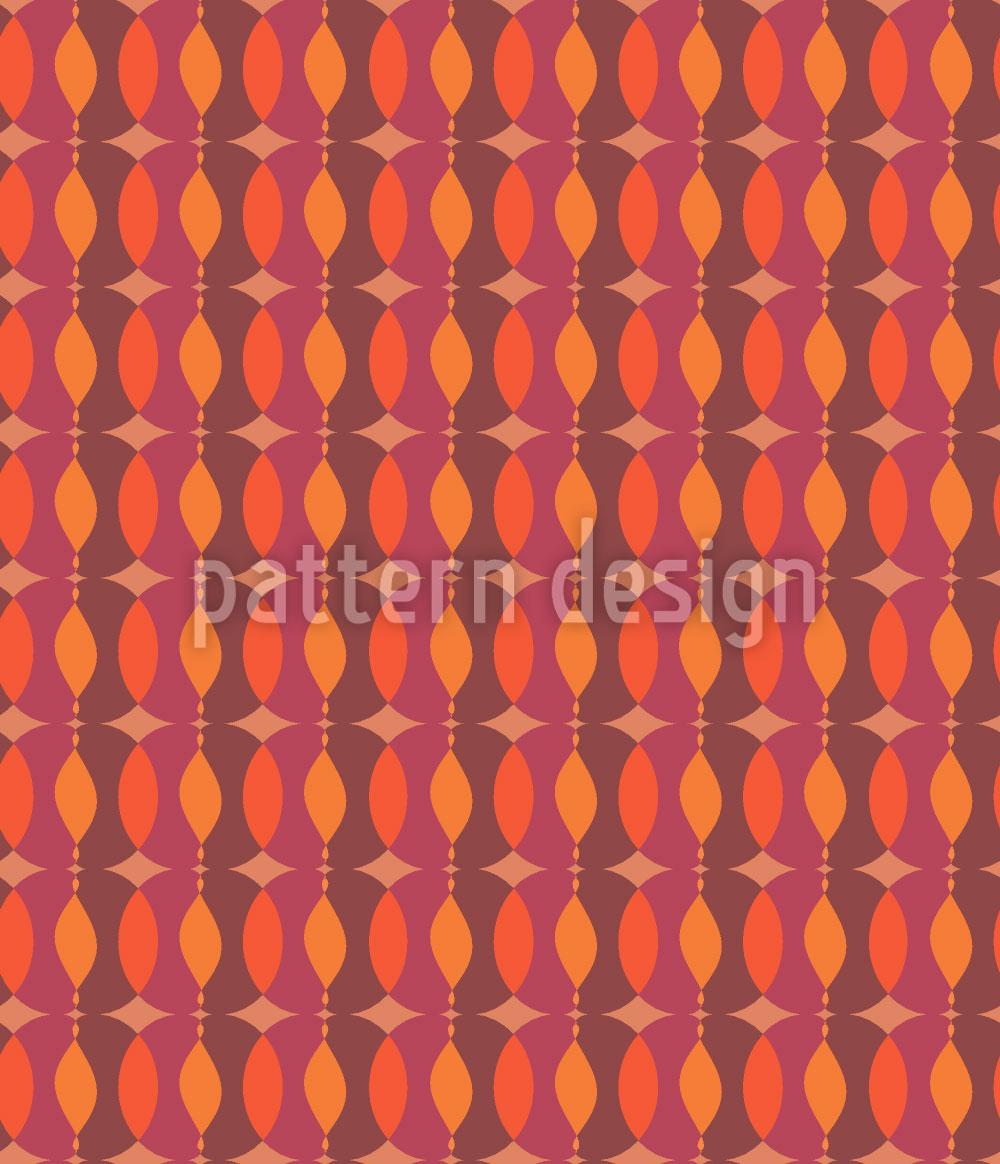Designtapete Kettchen Geometrie