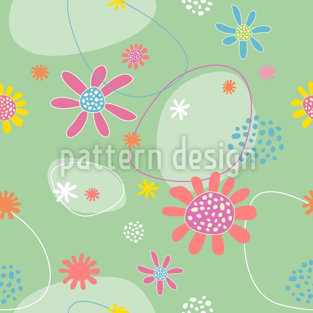 Designtapete Blumen Astrid