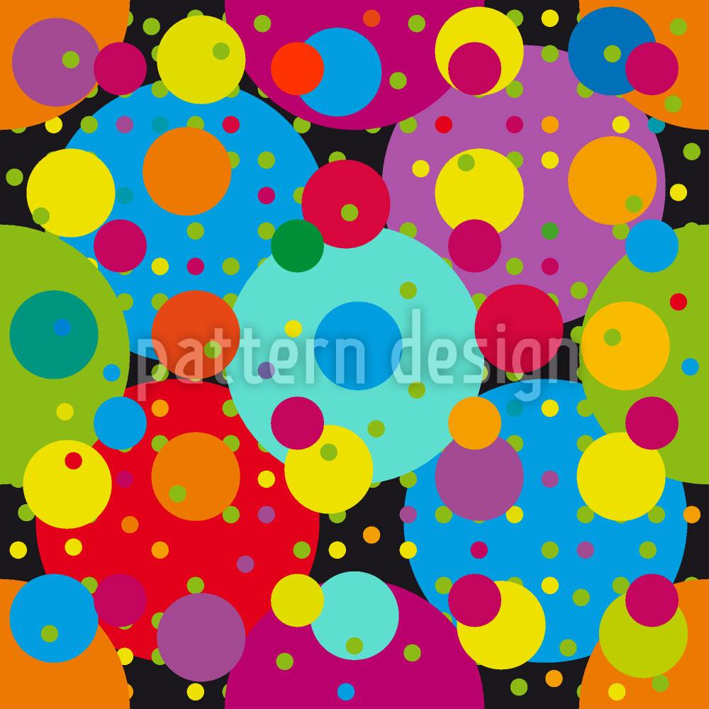 Designtapete Karneval Der Kreise