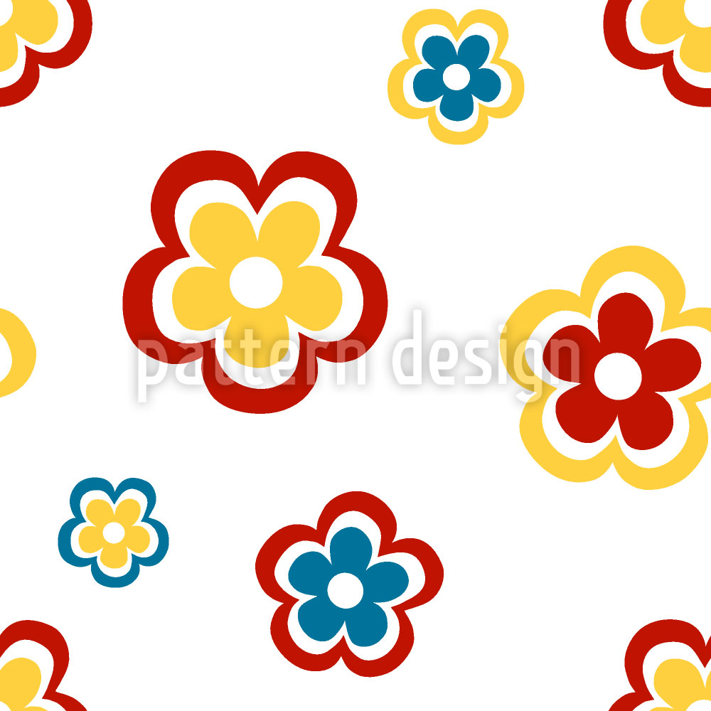Designtapete Happy Seventies