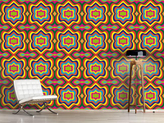 Designtapete Die Macht Der Farbe