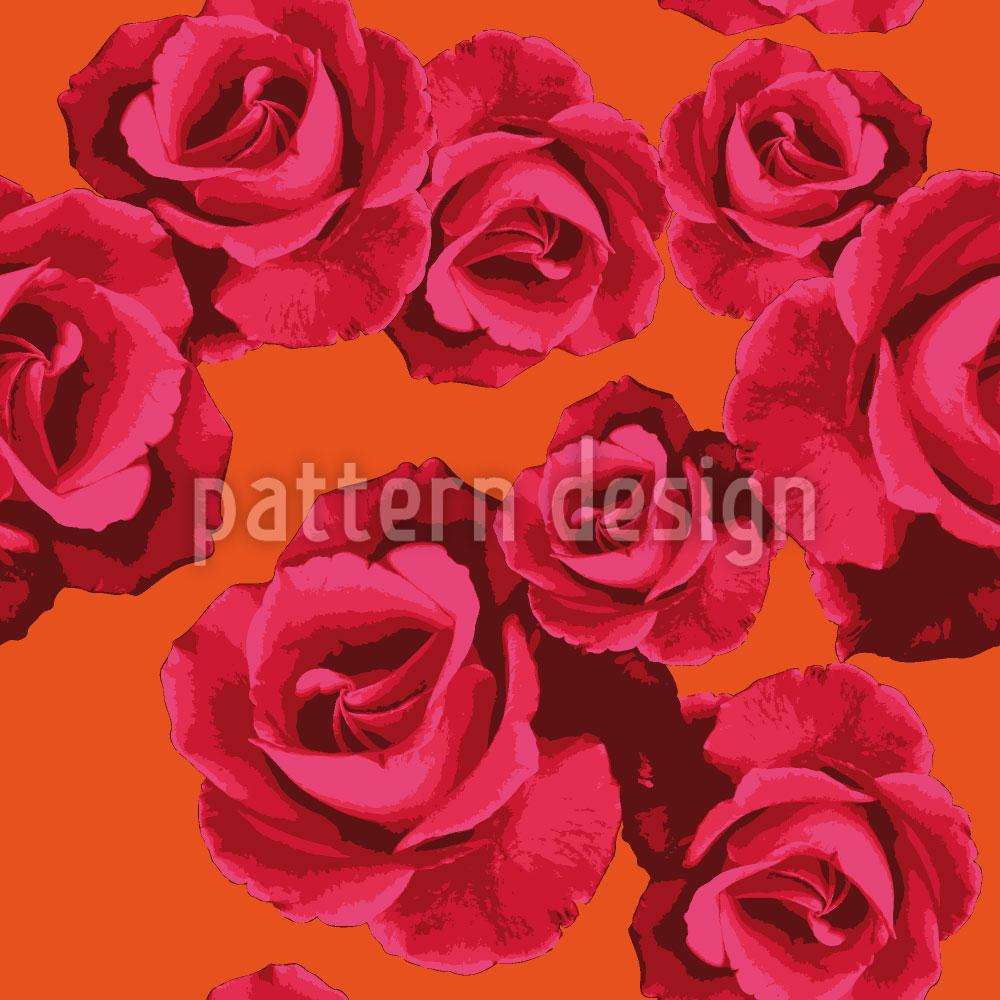 Designtapete Rosen Für Dich