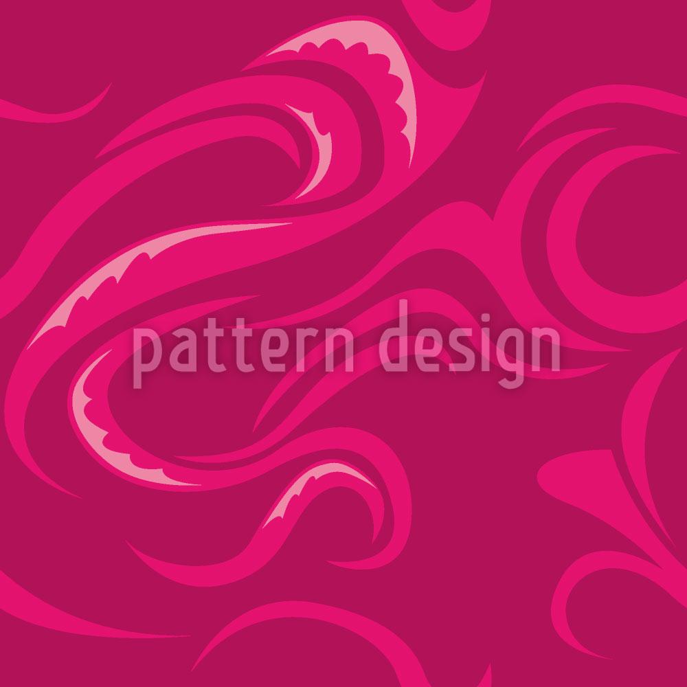 Designtapete Paikea Pink