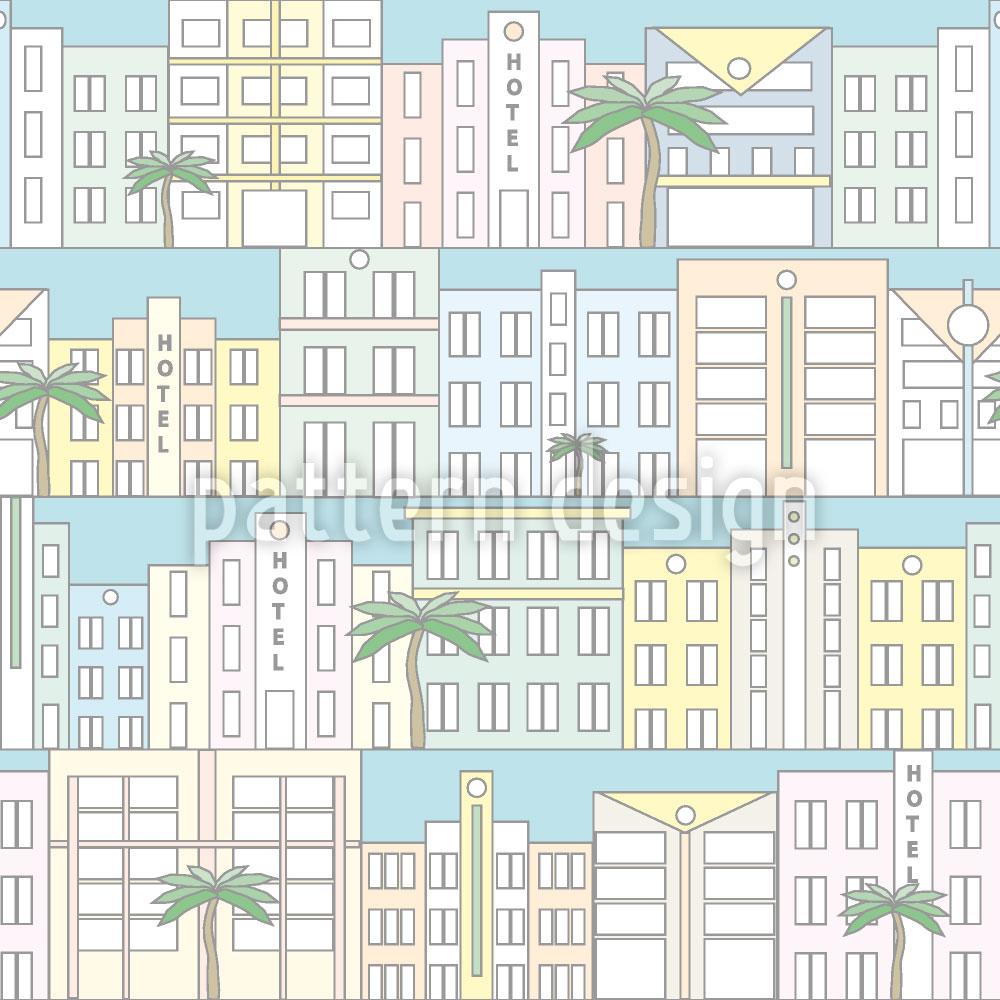 Designtapete Miami Beach