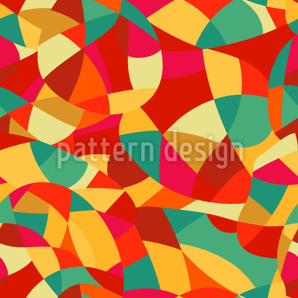 Designtapete Abstrakter Expressionismus