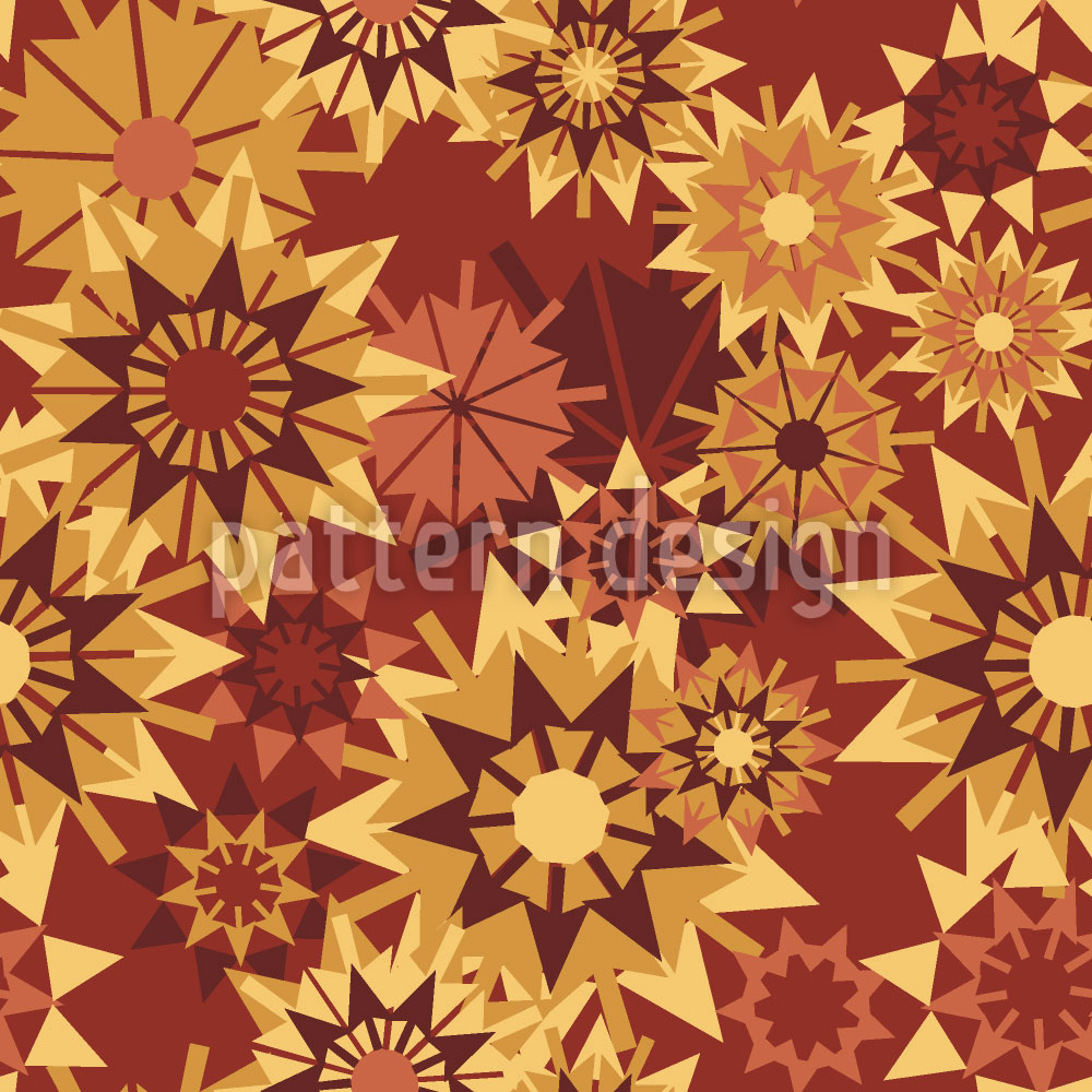 Designtapete Sternen Herbst