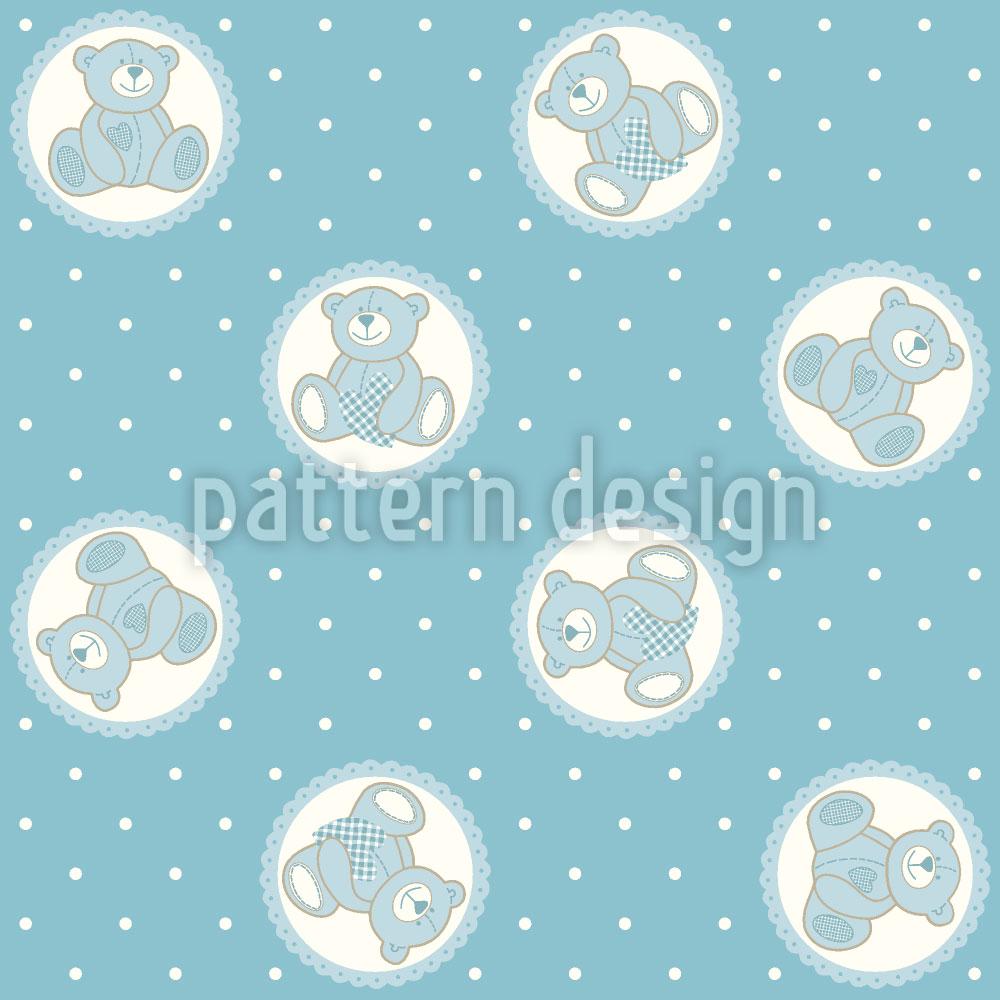 Designtapete Baby Timmys Teddybär