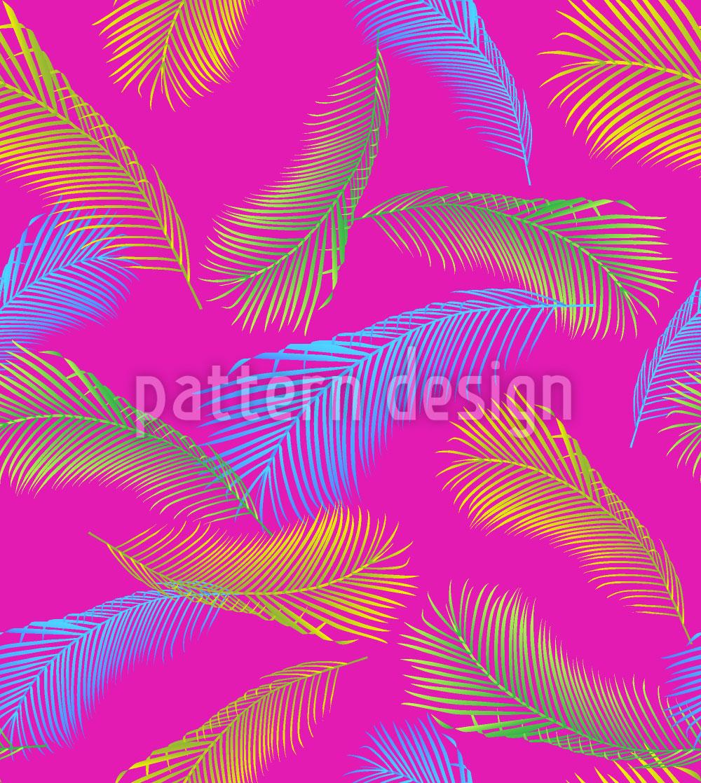 Designtapete Palmenblatt Avantgarde