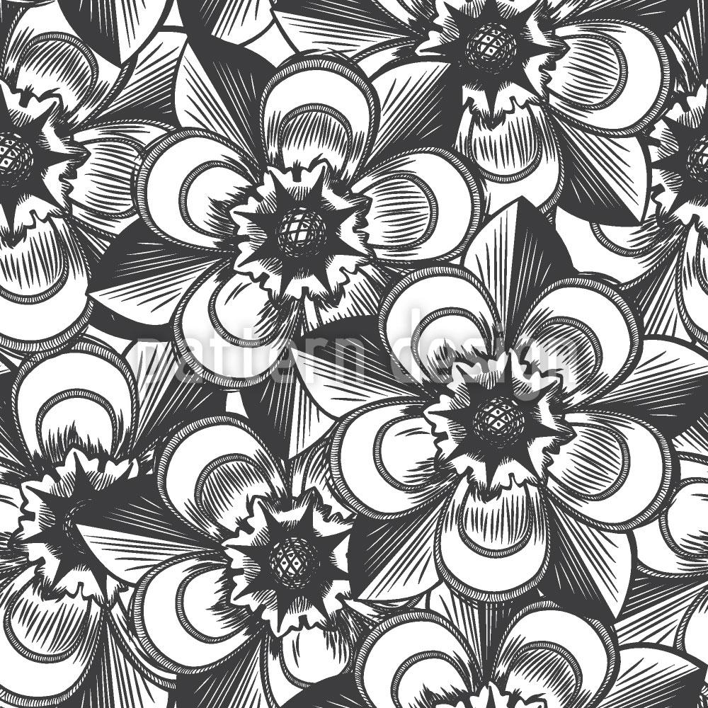 Designtapete Unsterbliche Blumen