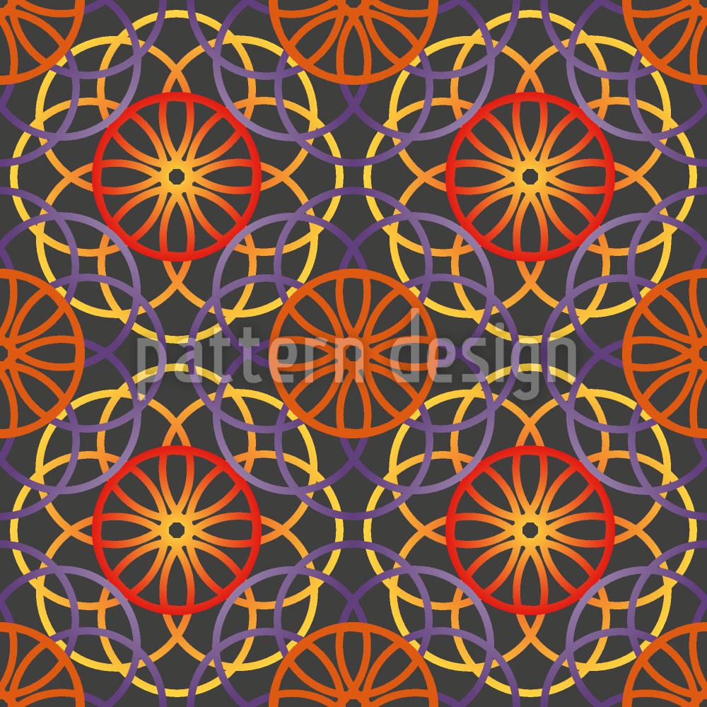 Designtapete Aufgang Der Spiralen
