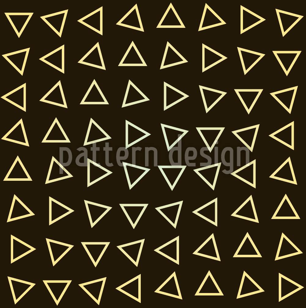 Designtapete Dreiecke In Bewegung