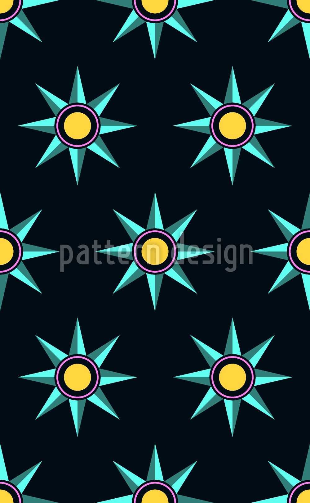 Designtapete Sternenparade