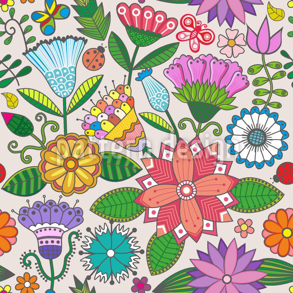 Designtapete Mein Wunderschöner Garten
