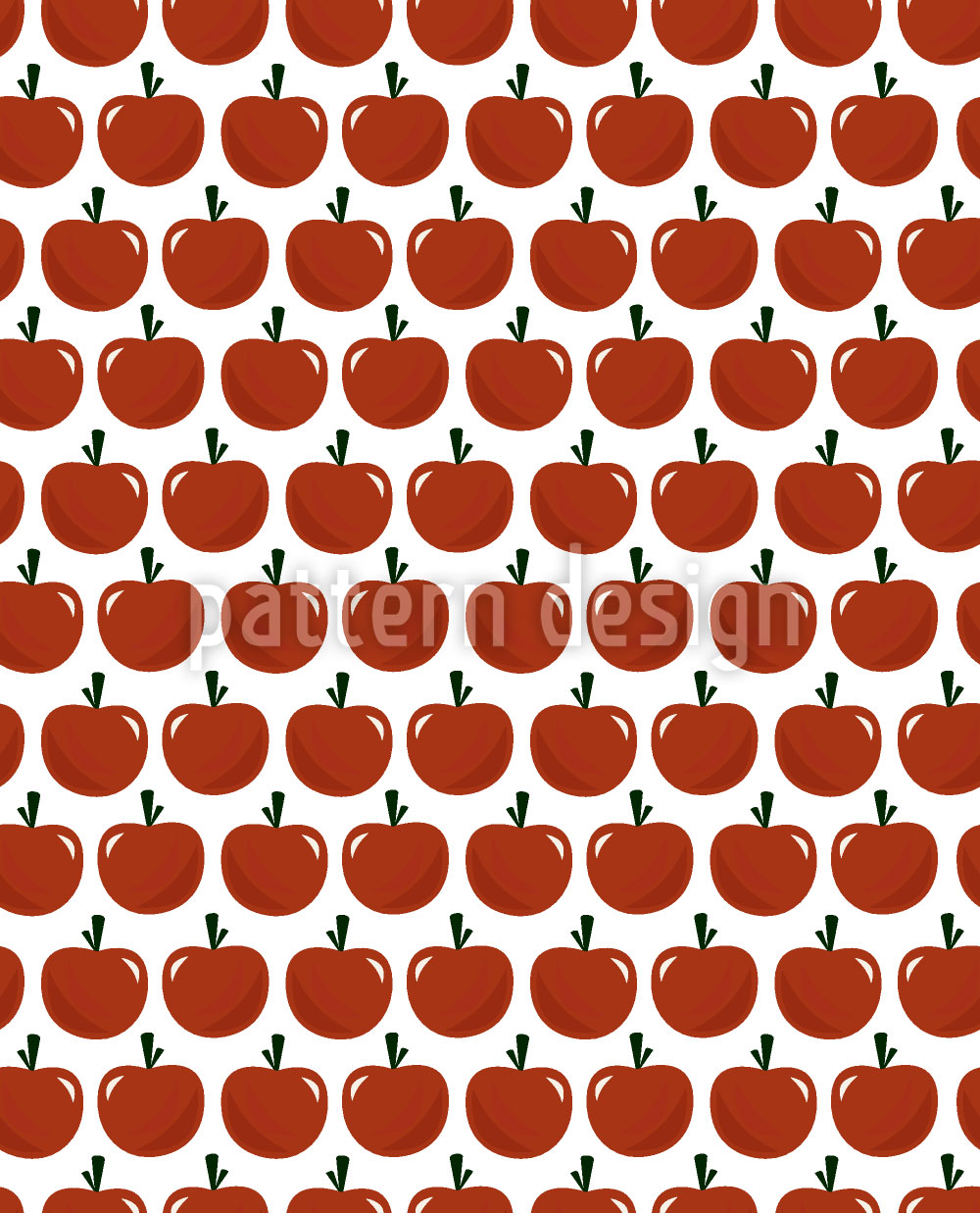 Designtapete Apfel Oder Tomate
