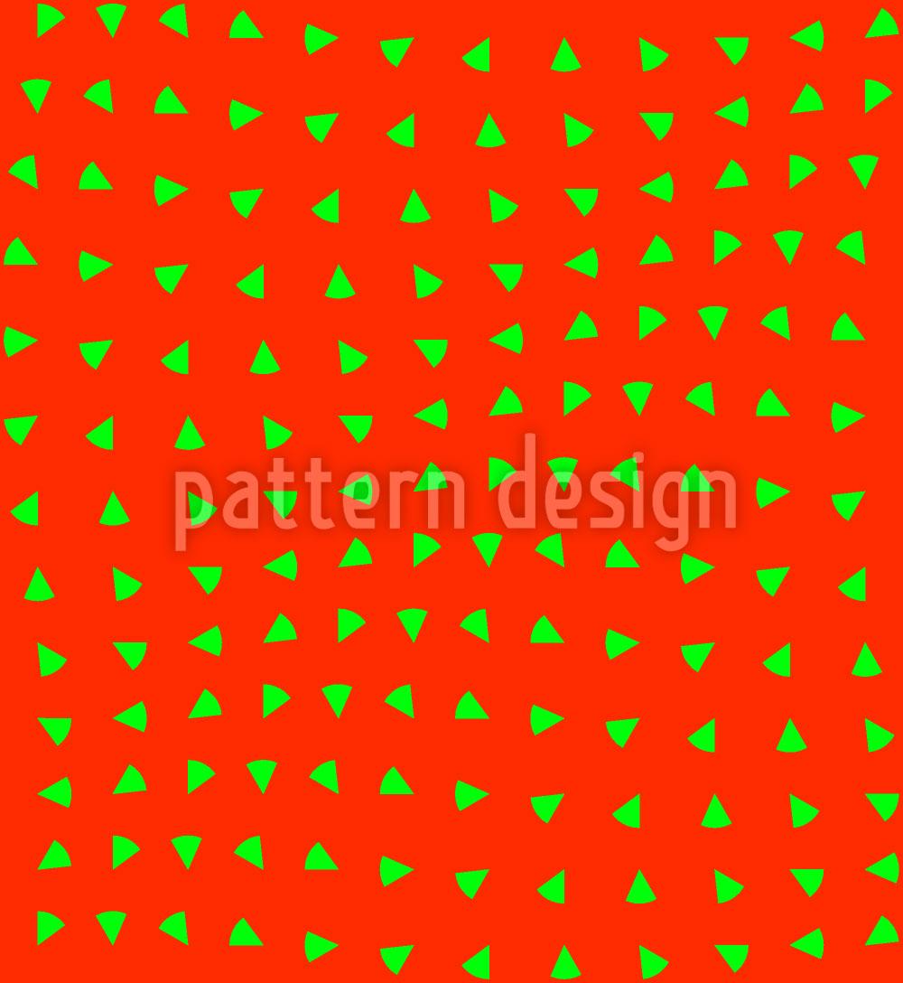 Designtapete Erdbeeren Bewegen