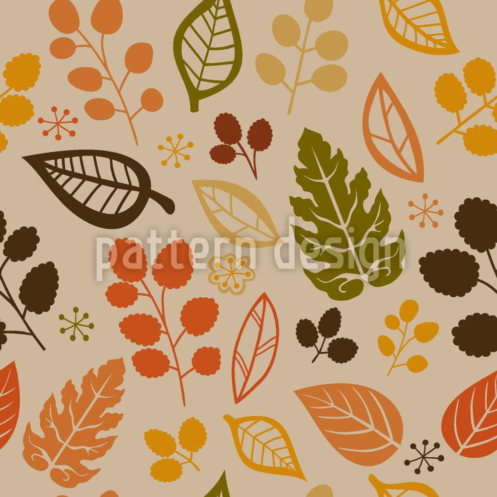 Designtapete Sich Für Blätter Entscheiden