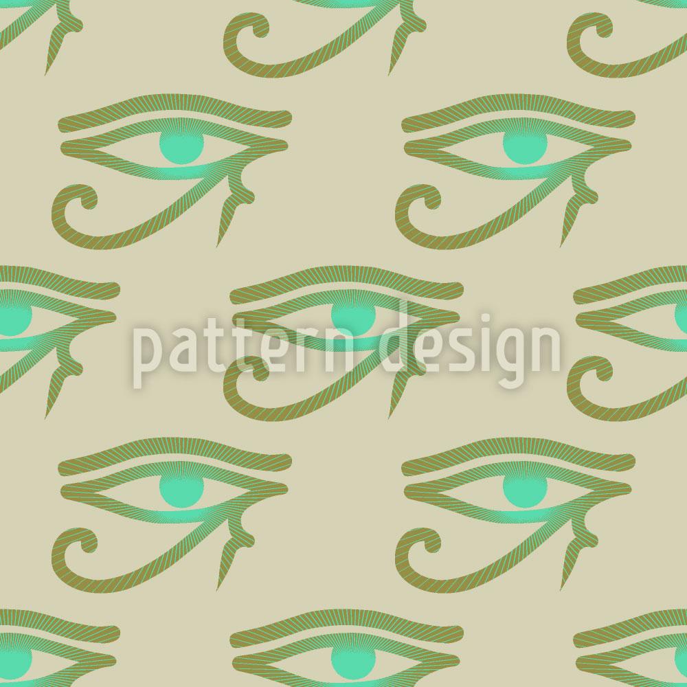 Designtapete Das Auge Des Horus
