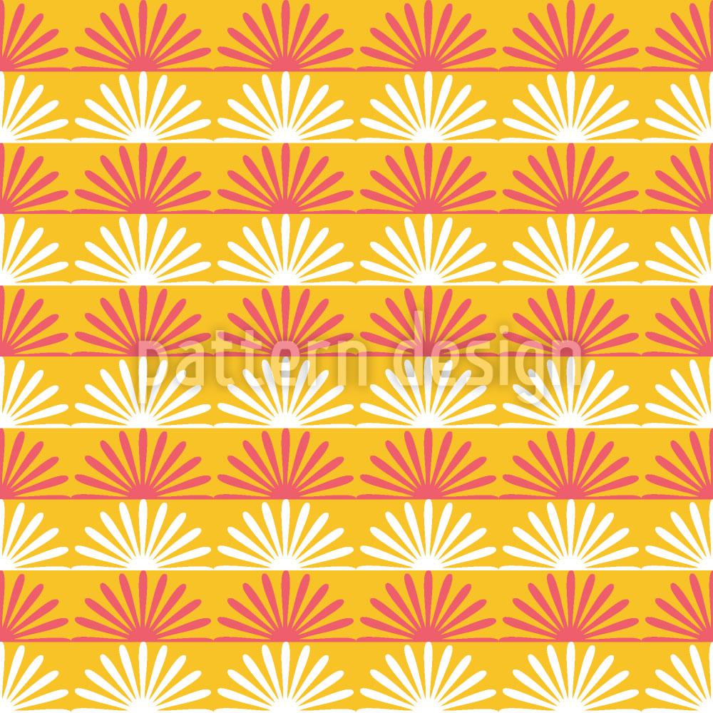 Designtapete Floraler Sonnenschein