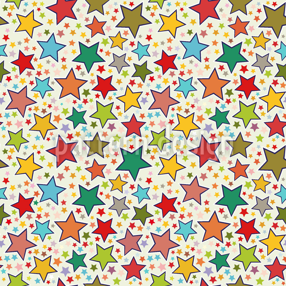 Designtapete Es Regnet Sterne