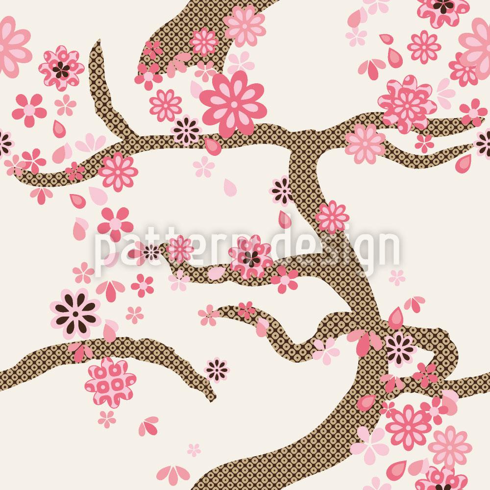Designtapete Sakura