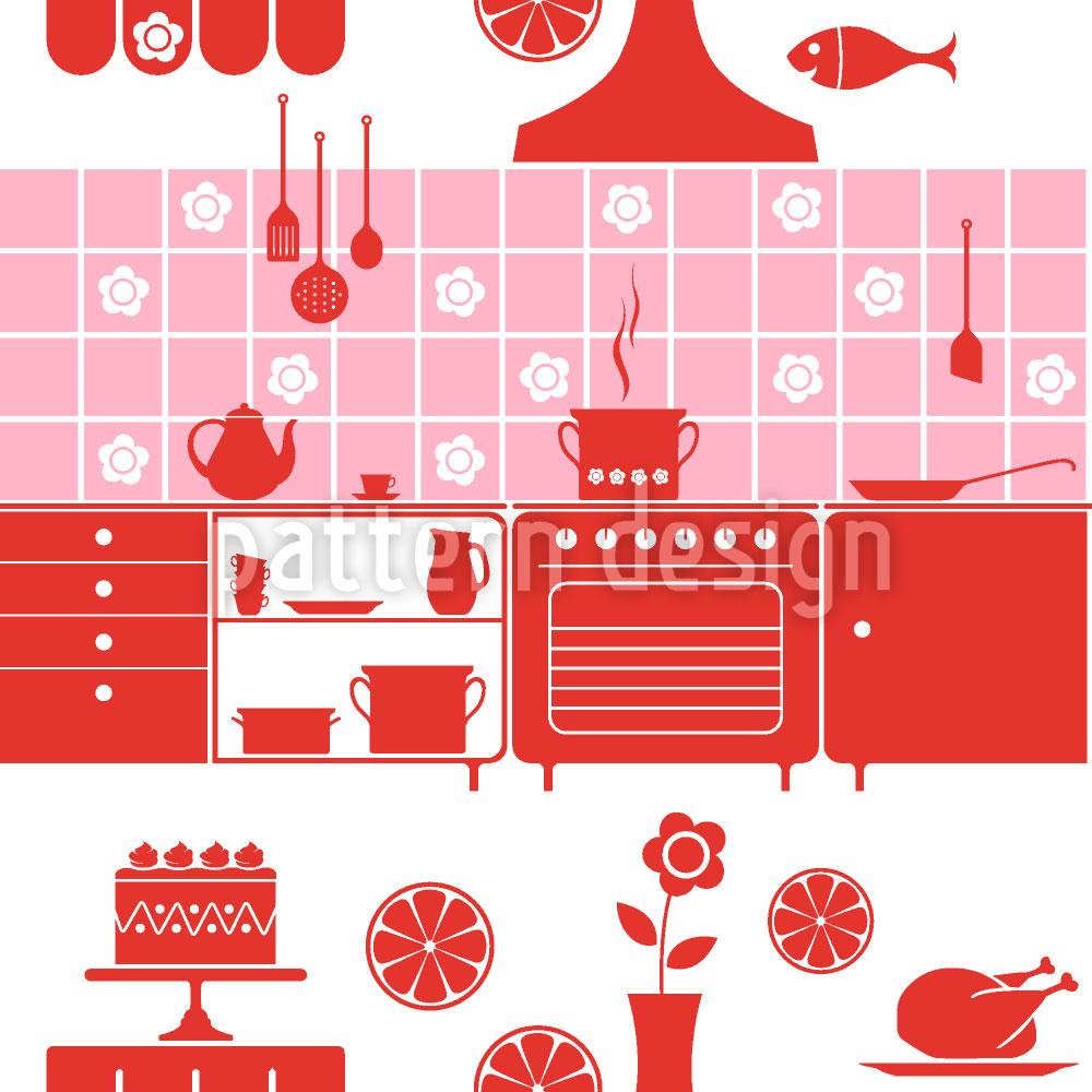 Designtapete Diese Küche Macht Freude