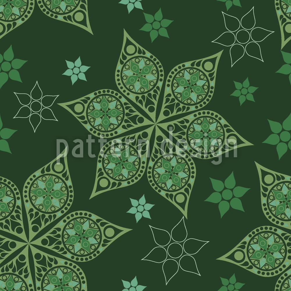 Designtapete Russische Weihnachtssterne