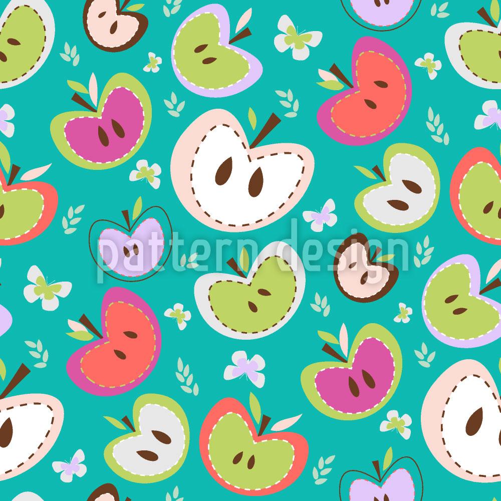 Designtapete Die Süssesten Äpfel