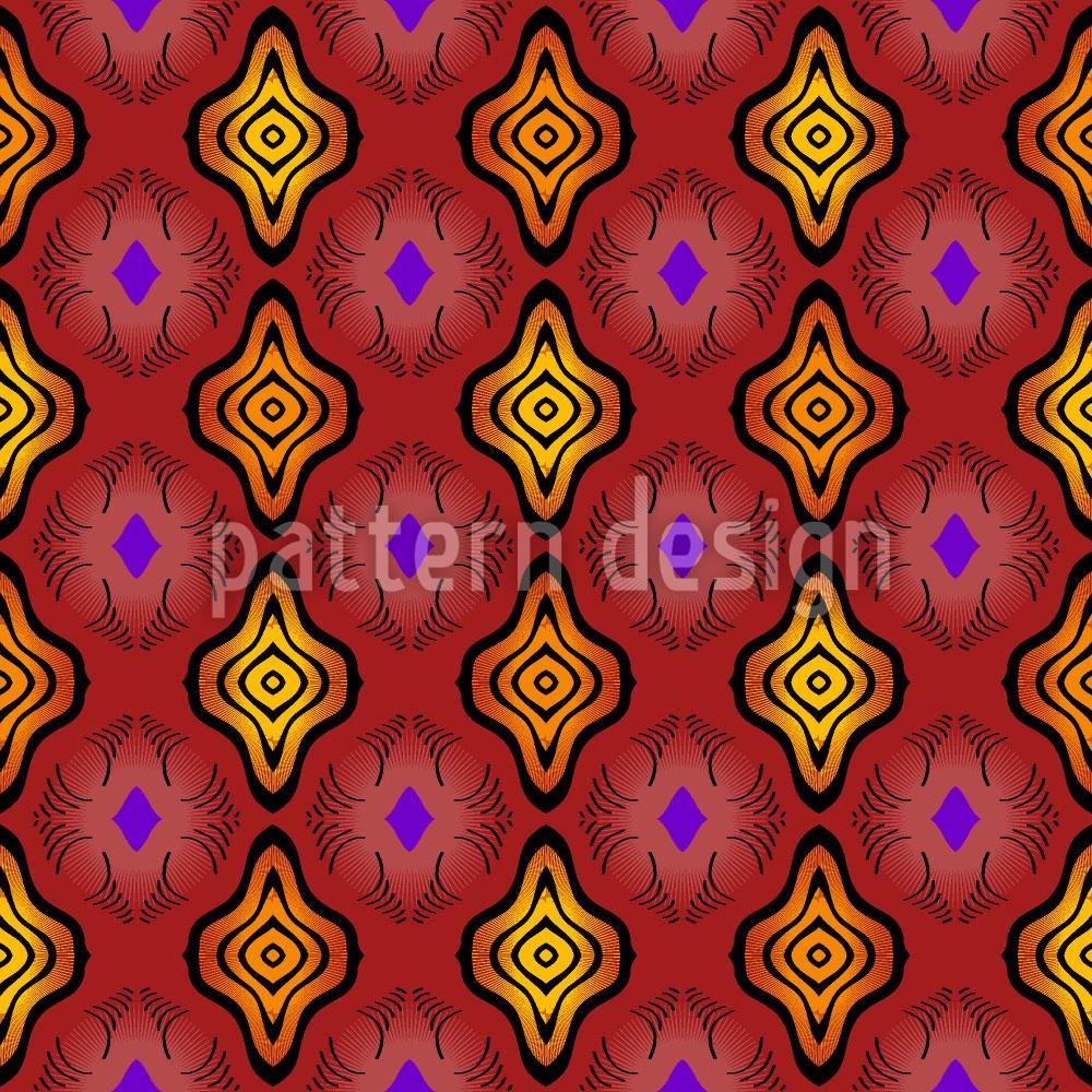 Designtapete Club Africana
