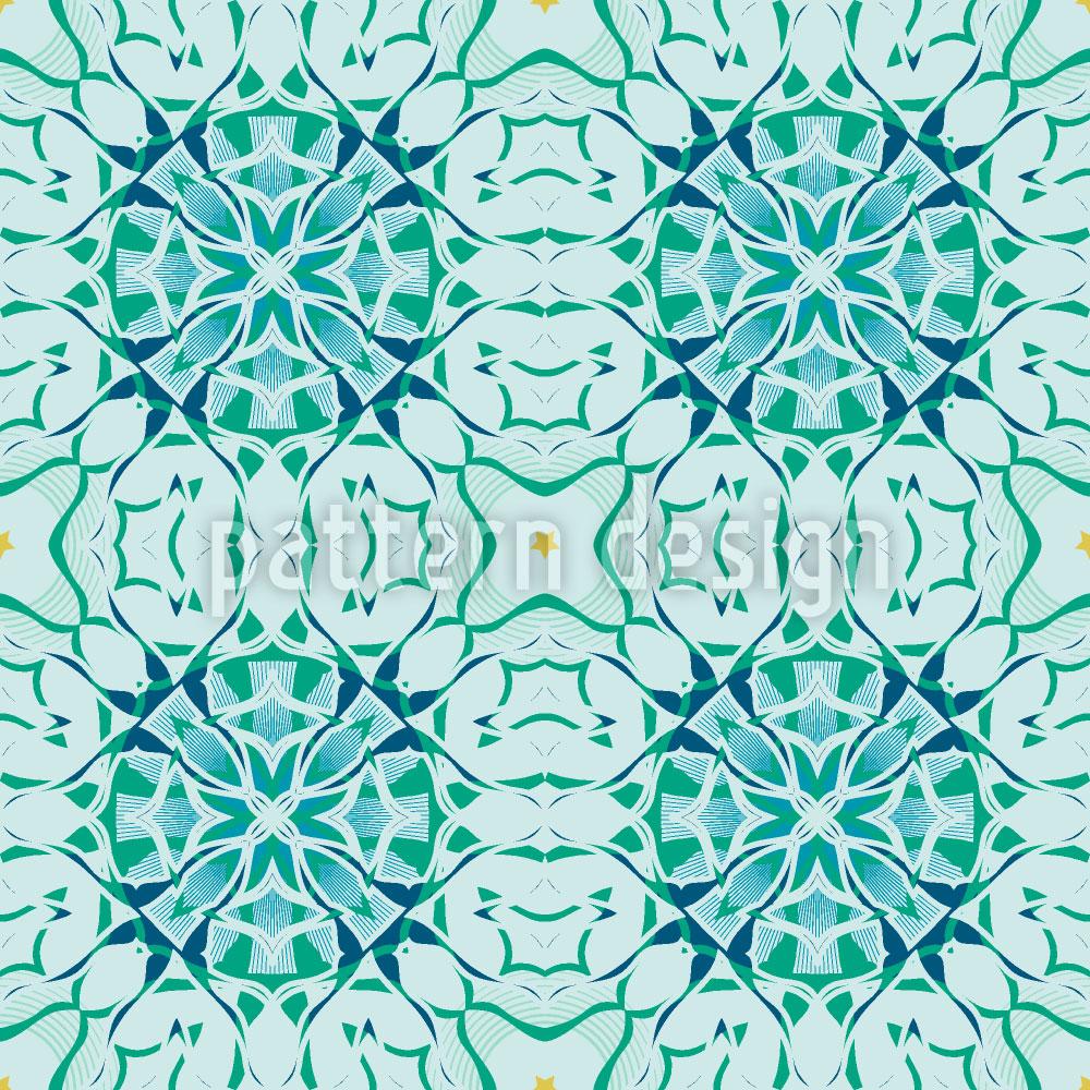 Designtapete Arctic Floral