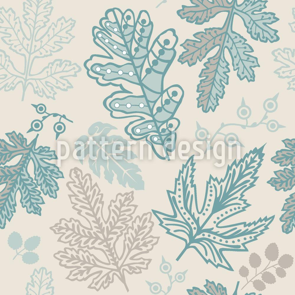 Designtapete Die Seele Der Blätter