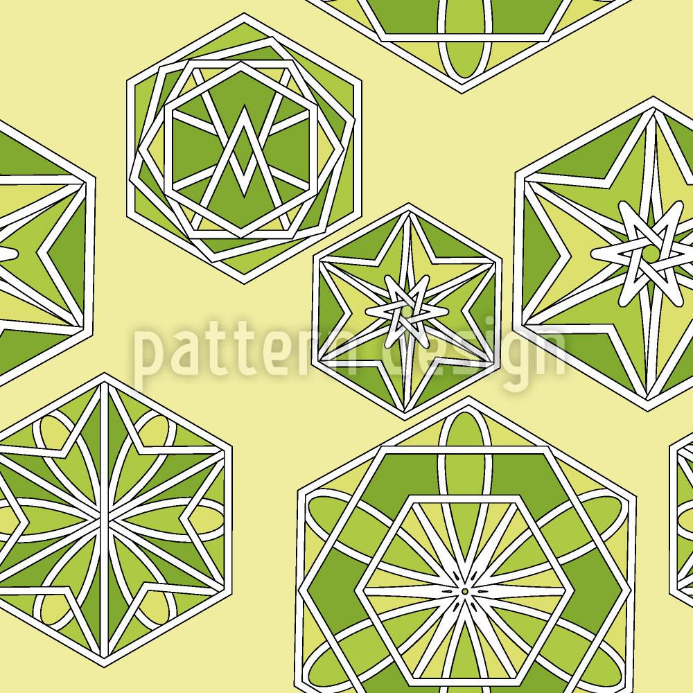 Designtapete Grünes Marokko