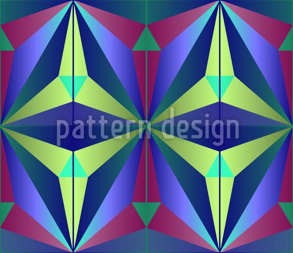 Designtapete Mysteriöse Geometrie