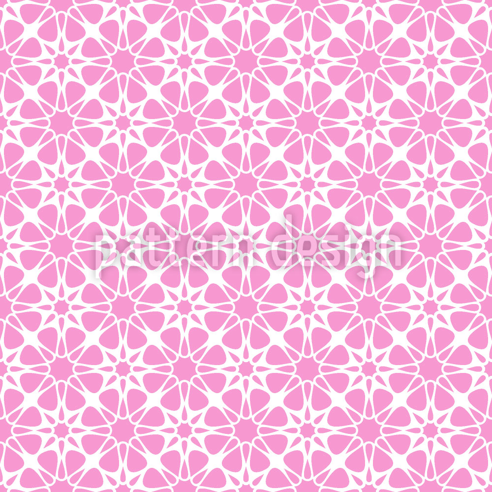 Designtapete Floral Kristall